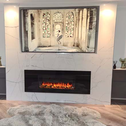 Bespoke made to measure stove installations