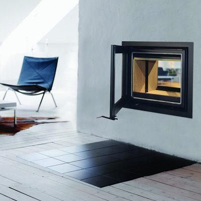 Lotus H570T Black Magic Woodburner