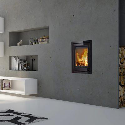 Lotus H700 Black Magic Woodburner