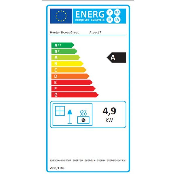 Parkray Aspect 7 Eco Freestanding Multifuel