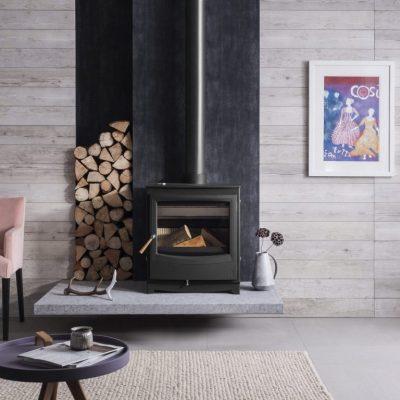 Arada Farringdon Catalyst Eco Woodburner