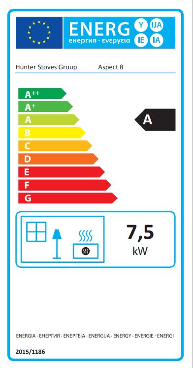 Parkray Aspect 8 Eco Freestanding Multifuel